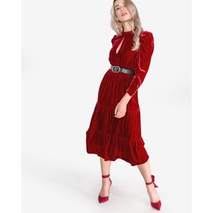 Pinko Imbuto Sukienka Czerwony obraz