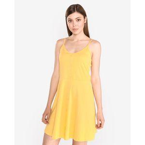 Vero Moda Adrianne Sukienka Żółty obraz