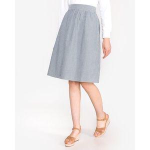Vero Moda Jane Spódnica Niebieski Biały obraz