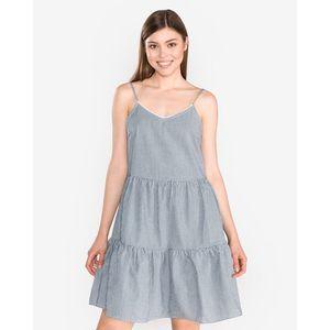 Vero Moda Jane Sukienka Niebieski Biały obraz