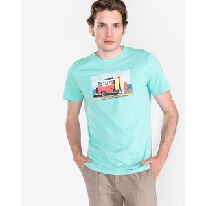 Jack & Jones Hotel Koszulka Niebieski Zielony obraz