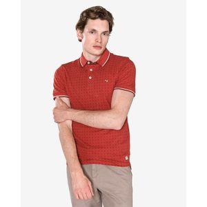 Jack & Jones Paulos Polo Koszulka Czerwony Pomarańczowy obraz
