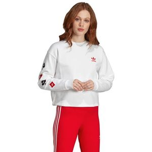 adidas Originals V-Day Bluza Biały obraz