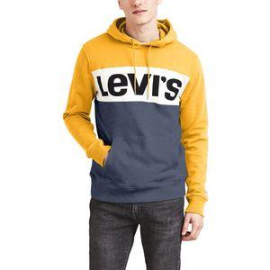 Levi's Bluza Żółty Szary obraz