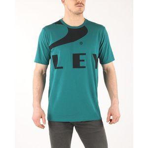 Oakley Koszulka Niebieski Zielony obraz
