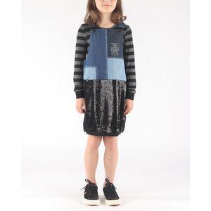 Diesel Dinas Sukienka dziecięca Czarny Niebieski obraz