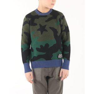 Diesel Kroxi Sweter dziecięcy Zielony Wielokolorowy obraz