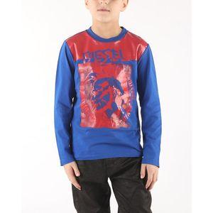 Diesel Tiago Koszulka dziecięce Niebieski obraz