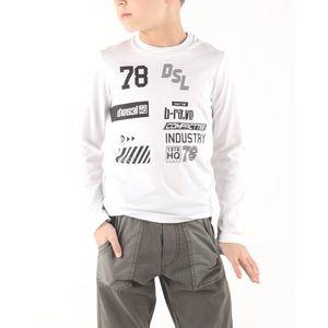 Diesel Tiago Koszulka dziecięce Biały obraz