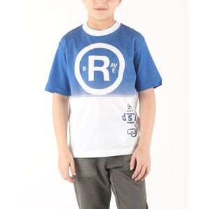 Diesel Taha Koszulka dziecięca Niebieski Biały obraz