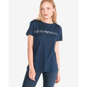 Emporio Armani Koszulka do spania Niebieski obraz