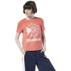 Reebok Koszulka Pomarańczowy obraz