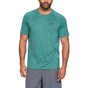 Under Armour Tech™ 2.0 Koszulka Niebieski Zielony obraz