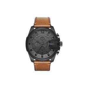 Diesel Zegarek Czarny Brązowy obraz
