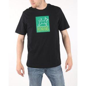 Diesel T-Just Koszulka Czarny obraz