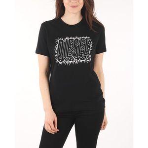 Diesel T-Sily-N Koszulka Czarny obraz