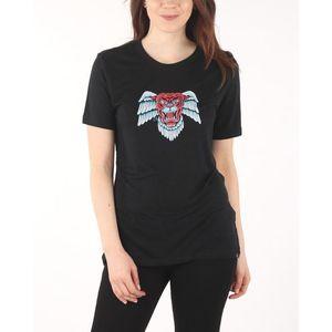 Diesel T-Sily-Z Koszulka Czarny obraz