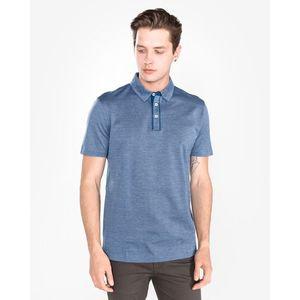 BOSS Hugo Boss Press 37 Polo Koszulka Niebieski obraz