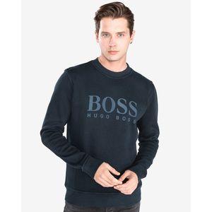 BOSS Hugo Boss Weave Sweter Niebieski obraz