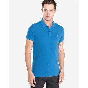 BOSS Hugo Boss Prime Polo Koszulka Niebieski obraz