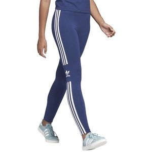 adidas Originals Trefoil Legginsy Niebieski obraz