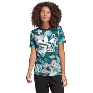 adidas Originals Trefoil Koszulka Niebieski Zielony obraz