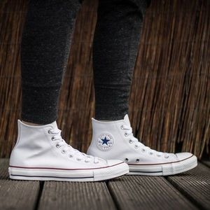 Buty sneakersy Converse Chuck Taylor All Star Leather Hi 132169C obraz