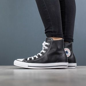 Buty sneakersy Converse Chuck Taylor All Star Leather Hi 132170C obraz