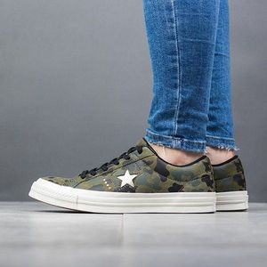 "Buty damskie sneakersy Converse One Star ""Nubuck Gold Camo""159703C obraz"