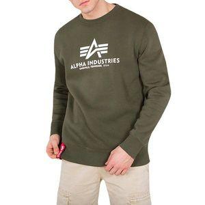 Bluza męska Alpha Industries Basic Sweater 178302 257 obraz