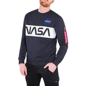 Bluza męska Alpha Industries NASA Inlay Sweater 178308 07 obraz