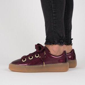 Buty damskie sneakersy Puma Basket Platform Kiss 366822 01 obraz