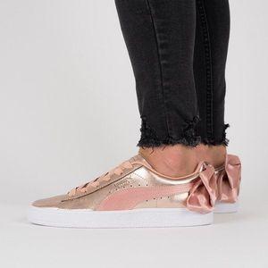 Buty damskie sneakersy Puma Basket Bow Luxe Wns 367851 01 obraz