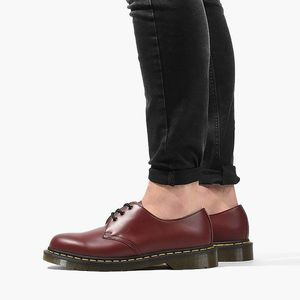 Buty Dr. Martens 1461 Cherry Red 10085600 obraz