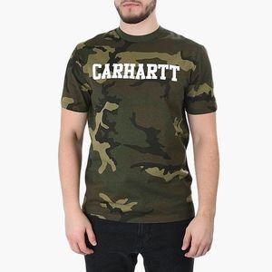 Koszulka męska Carhartt WIP College I024772 Camo Laurel obraz