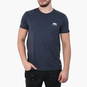Koszulka męska Alpha Industries Basic Small Logo 188505 02 obraz
