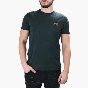 Koszulka męska Alpha Industries Basic Small Logo 188505 353 obraz