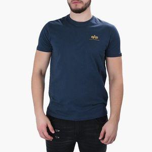 Koszulka męska Alpha Industries Basic Small Logo 188505 435 obraz