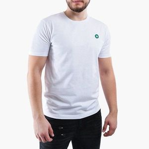 Koszulka męska Wood Wood Ace Double A 10005700-2222 Bright White obraz