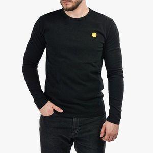 Koszulka męska Longsleeve Wood Wood Mel Double A 10005402-2323 BLACK obraz