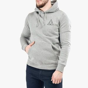 Bluza męska HUF Hooded Triple Triangle PF00100 GREY obraz