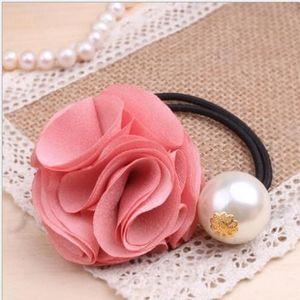 Gumka do włosów ROSE - Różowy KP1342 obraz