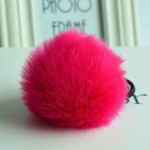 Gumka do włosów Rabbit - Ciemnoróżowy KP1635 obraz