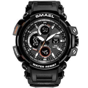 Zegarek SMAEL TEO - Czarny/Biały KP4001 obraz