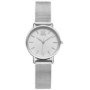 Zegarek SHENGKE - Srebrny obraz