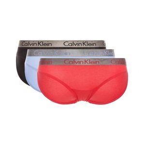 Calvin Klein 3-pack Spodenki Czarny Niebieski Czerwony obraz