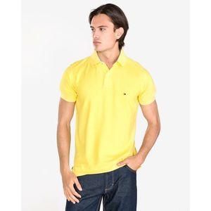 Tommy Hilfiger Polo Koszulka Żółty obraz