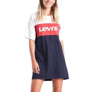 Levi's Sukienka Niebieski Czerwony Biały obraz