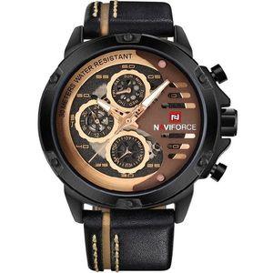 Zegarek NAVIFORCE Professional - Czarny/Złoty obraz