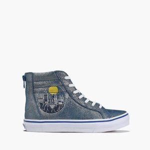 Buty dziecięce sneakersy Vans x Harry Potter Sk8-Hi Zip VA4BUXV3R obraz